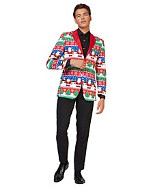 Men's Snazzy Santa Christmas Blazer