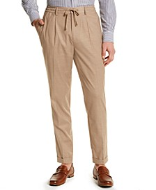 Men's Classic-Fit Stretch Tropical Weight Dress Pants, Created for Macy's
