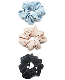 3-Pc. Pearl Scrunchie Set