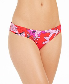Shirred Bikini Bottoms, Created for Macy's