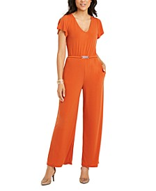 Belted Jumpsuit, Created For Macy's