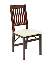 Hacienda Folding Chair (Set of 2)