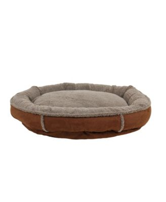 Orthopedic Tipped Berber Round Comfy Cup Dog Bed
