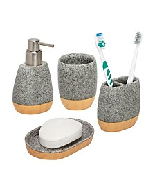 4-Pc. Bathroom Accessories Set