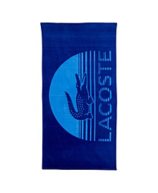 "Blue Daybreak Cotton 36"" X 72"" Beach Towel"