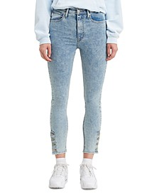 Mile High Acid Wash Super Skinny Jeans
