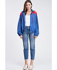 Long Sleeve Wind Breaker Woven Jacket
