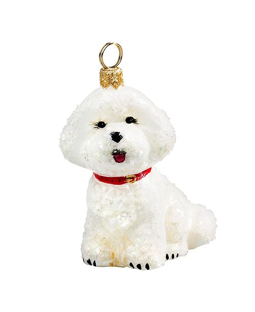 Joy to the World Bichon Frise - Snowy Version