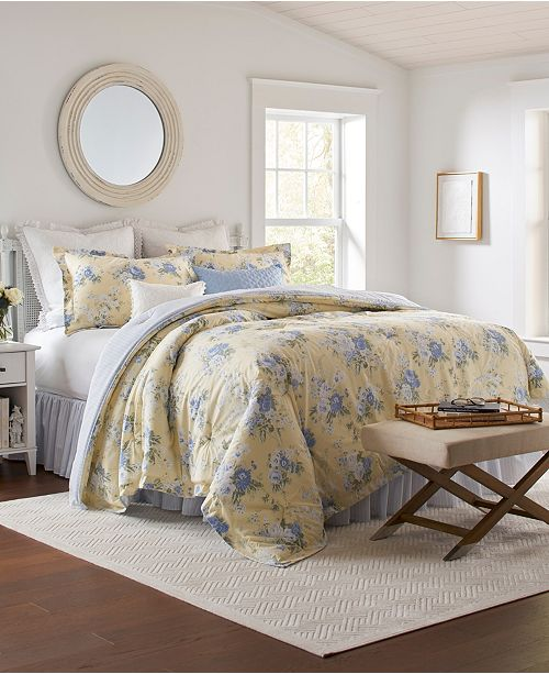 Laura Ashley Maybelle Queen Comforter Set