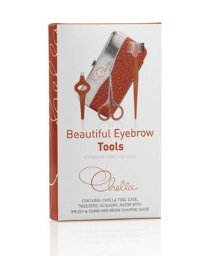 Beautiful Eyebrow Tools in Case