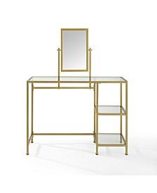 Aimee 2 Piece Vanity And Mirror Set