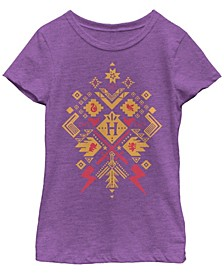 Harry Potter Little and Big Girl's The Deathly Hallows Whimsical Witch Girls Short Sleeve T-Shirt