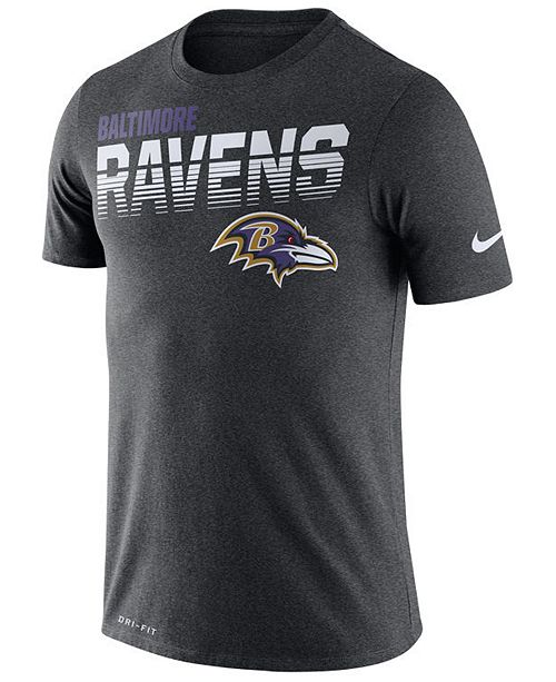 Nike Men's Baltimore Ravens Sideline Legend Line of Scrimmage T-Shirt