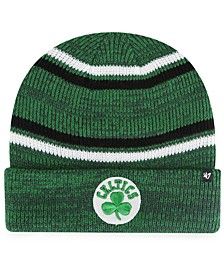Boston Celtics Marled Stripe Cuff Knit Hat