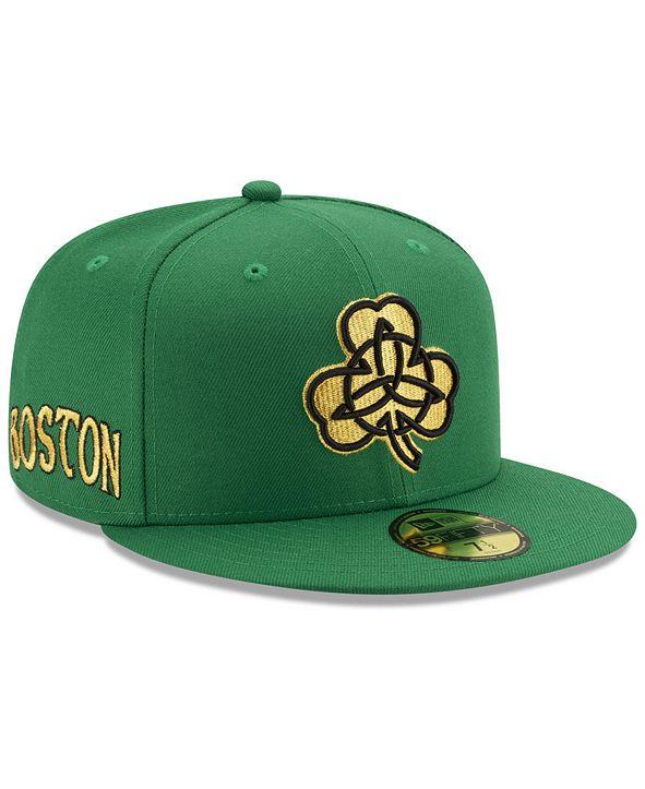 New Era Boston Celtics City Series 59FIFTY Fitted Cap