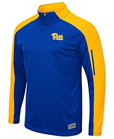 Men's Pittsburgh Panthers Promo Quarter-Zip Pullover
