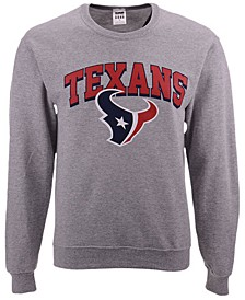 Men's Houston Texans Classic Crew Sweatshirt