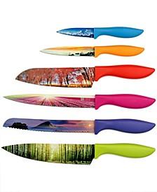 Landscape Series 6-Piece Knife Set
