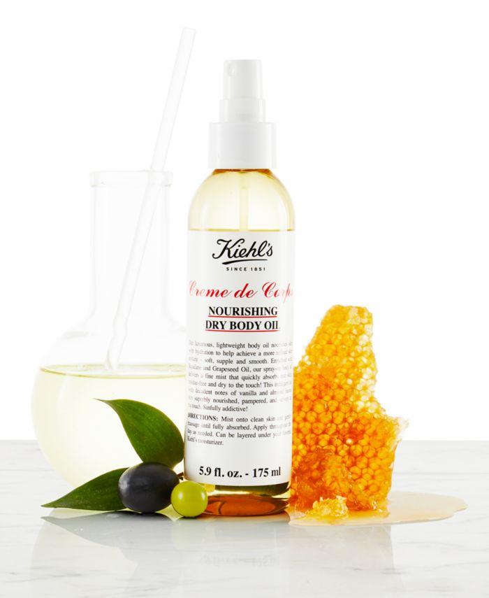 Kiehl's Since 1851 Creme de Corps Nourishing Dry Body Oil, 5.9-oz. & Reviews - Shop All Brands - Beauty - Macy's