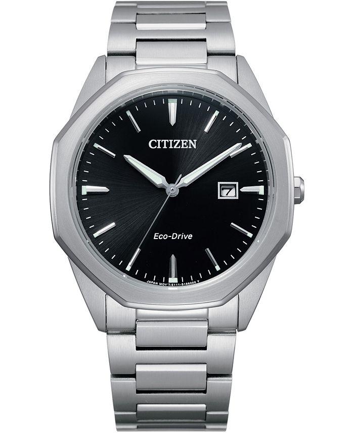 Citizen - Men's Corso Stainless Steel Bracelet Watch 41mm