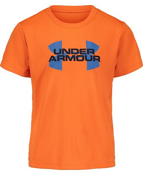 Under Armour Little Boys Velocity Logo T-Shirt