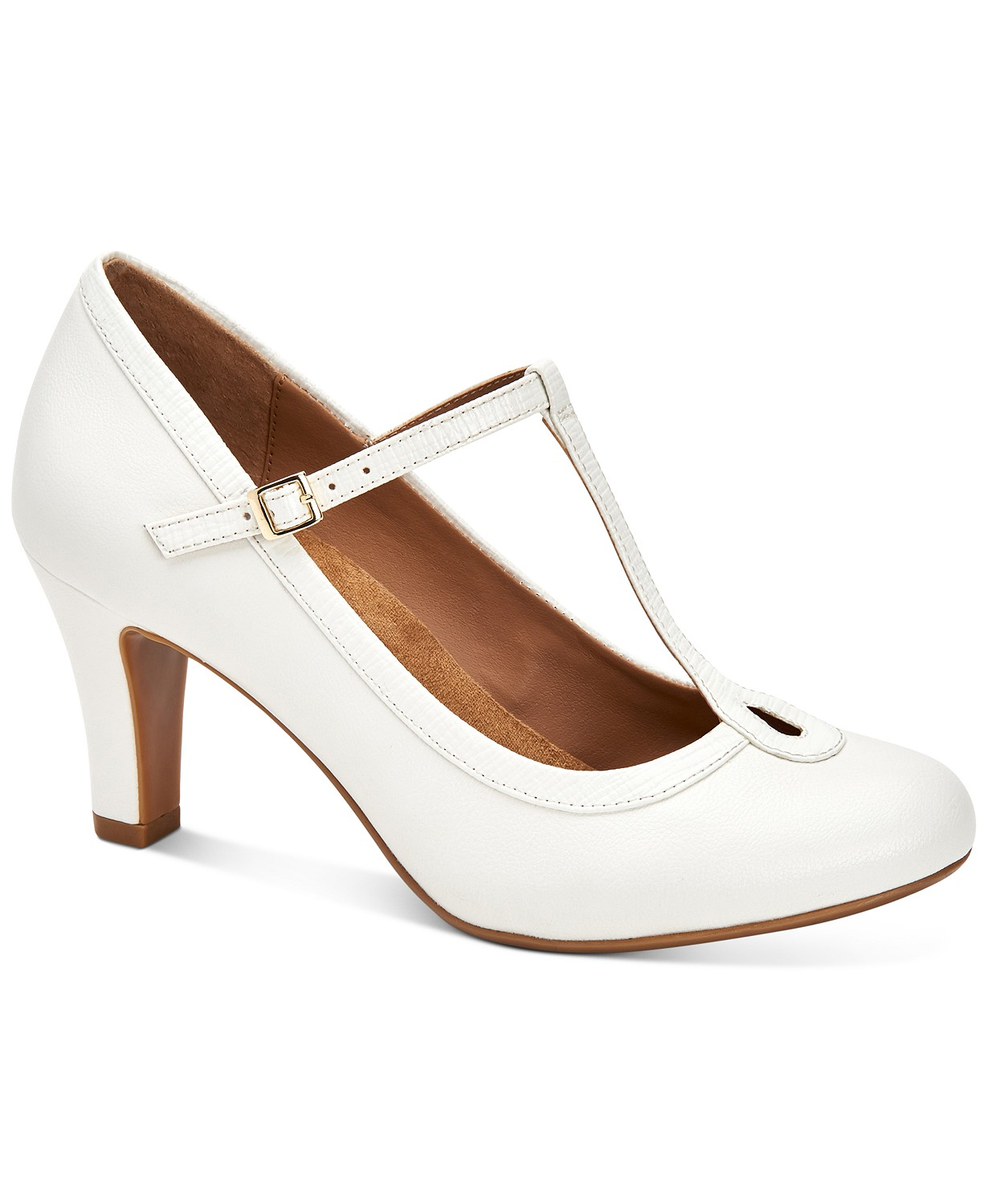 Varinaa T-Strap Pumps, Created for Macy's