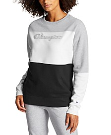 Women's Powerblend Colorblocked Sweatshirt