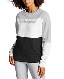 Women's Powerblend Colorblocked Sweatshirt
