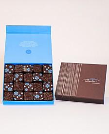 Winter Fleur de Sel Caramel Collection, Large Box (10 piece)