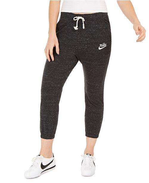 Nike Women's Gym Vintage Capri Sweatpants