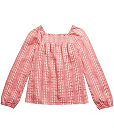 Big Girls Smocked Top