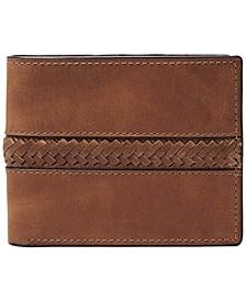Men's Francis Flip ID Leather Wallet