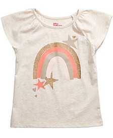 Little Girls Rainbow Star T-Shirt, Created for Macy's