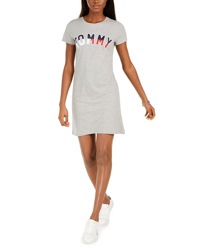 Tommy Hilfiger Graphic T-Shirt Dress, Created for Macy's