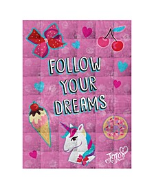 Follow Your Dreams 5lb Weighted Blanket
