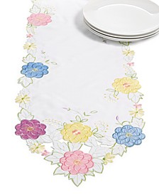 "CLOSEOUT! Springtime Fever Table Runner, 14"" X 72"""