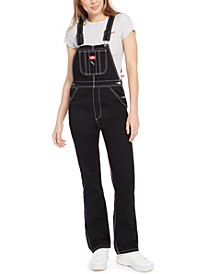 Juniors' Denim Carpenter Overalls