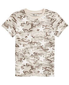 Big Boys Desert Camo Star T-Shirt, Created for Macy's