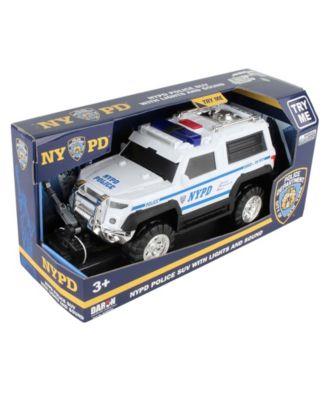 Daron Police Department City Of New York Police Suv