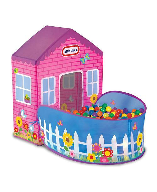 Little Tikes Playhouse Tent - 20 Balls Included - Indoor/Outdoor