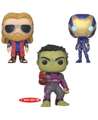 Funko Pop Marvel Avengers Endgame Collectors Set 3