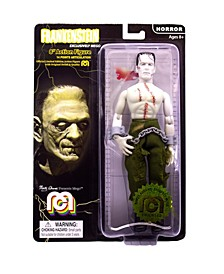 "Mego Action Figure, 8"" Frankenstein - Bare Chested With Painted Stitches"