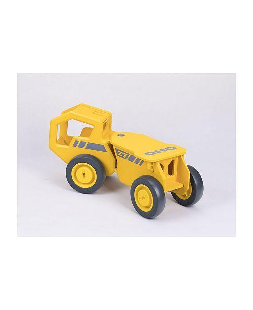 OHO Moover Toys Wooden Foot-To-Floor Wooden Dump Truck