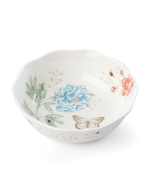 Lenox Butterfly Meadow Gold - 20th Anniversary Soup Bowl