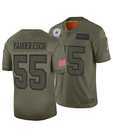 Men's Leighton Vander Esch Dallas Cowboys Salute To Service Jersey 2019