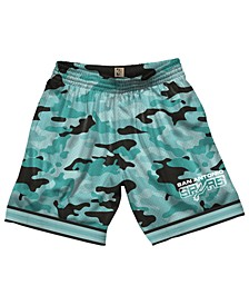 Men's San Antonio Spurs Camo Mesh Shorts