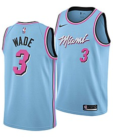 Men's Dwyane Wade Miami Heat City Edition Swingman Jersey