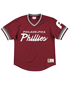 Men's Philadelphia Phillies Script Mesh Jersey