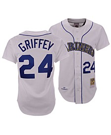 Men's Ken Griffey Jr. Seattle Mariners Authentic Cooperstown Jersey