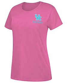 Women's Kentucky Wildcats Floral Fill Pastel State T-Shirt